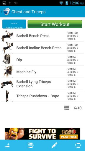 Workout trainer apps for Android 5