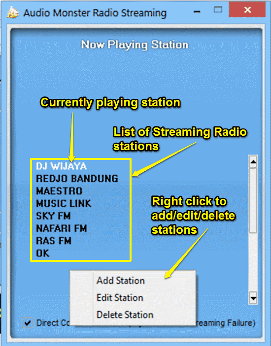 am radio streaming