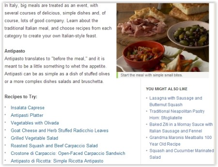 learn Italian cuisine