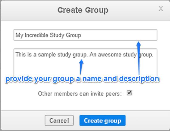 create group thinkbinder