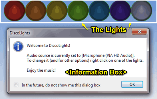 discolights startup