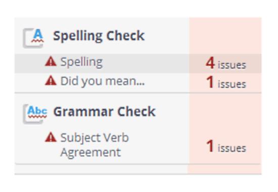 grammarbase summarized listing