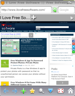 iFox Browser