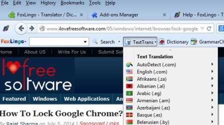 5 Language Translator Addons For Firefox