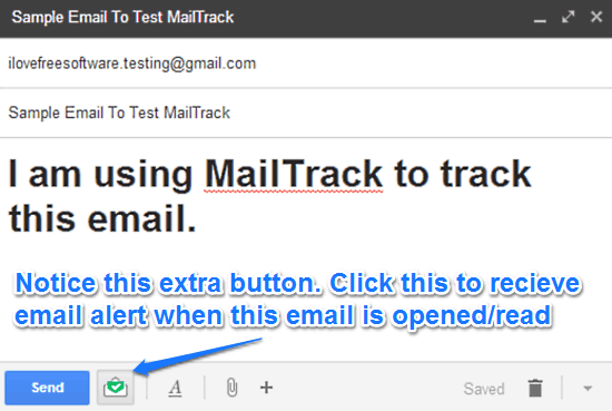 mailtrack compose email
