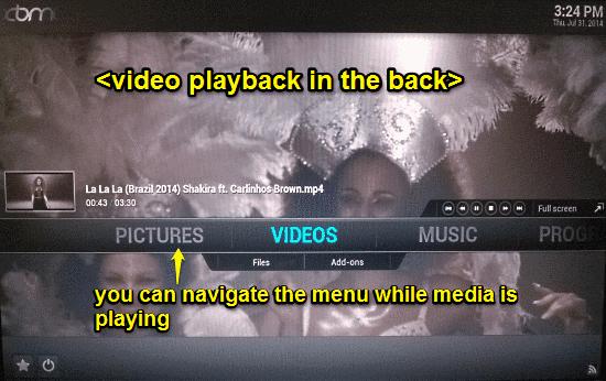openelec videoplayback