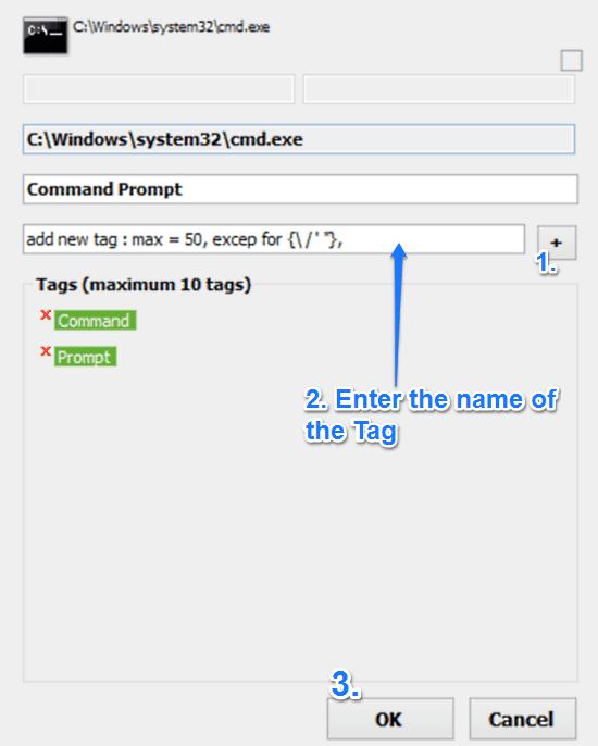 wlinker add tags