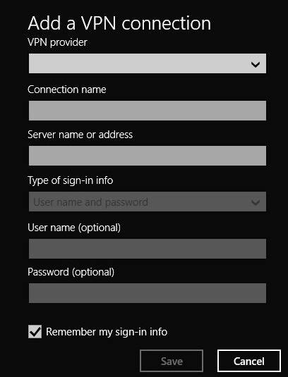 Add a VPN connection-3