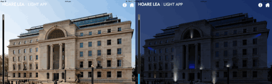 Adding Lighting Effect to Buildings