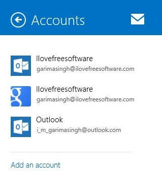 Automatic Send Mail-Accounts