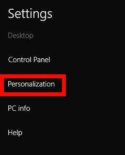 Change Color of window border-Personalization