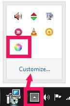 ColorSync-Tray Icon