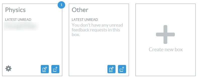 Creatig New Box