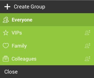 Creating Group