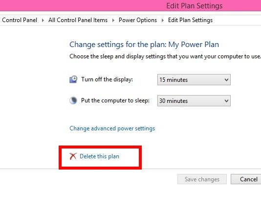 Custom Power Plan-Delete This Plan