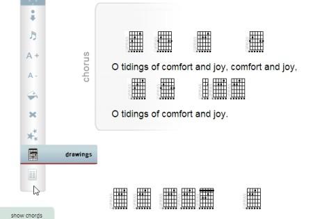 find guitar chords