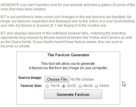 create favicon online