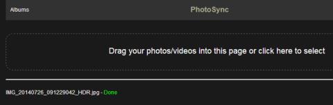 File Uploading Interface