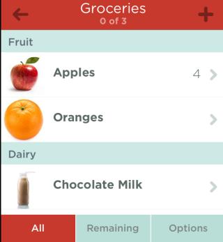 Groceries. Homepage