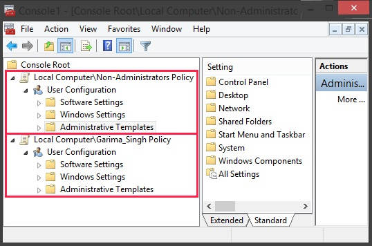 Group Policy Editor-AddED