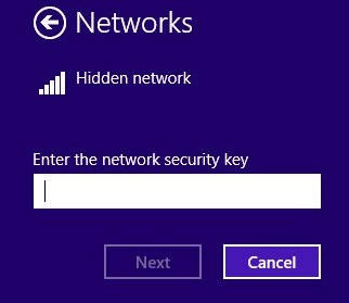 Hidden Network-Security Key