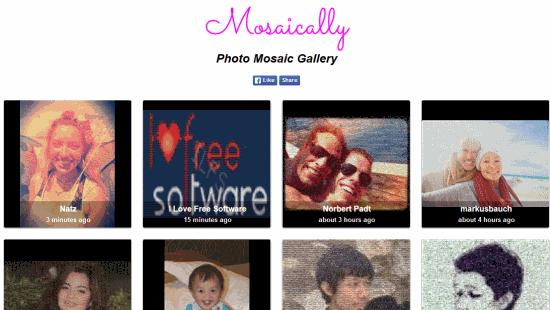Mosaically Photo Mosaic Gallery