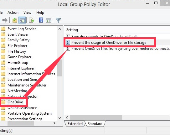 OneDrive-Group Policy