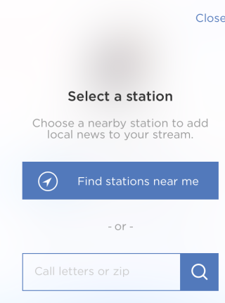 Option for Changing Stations