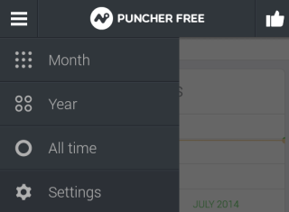 Options of Puncher App