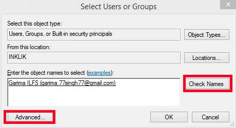 Prevent Or Add Users To Take Ownership-Advanced