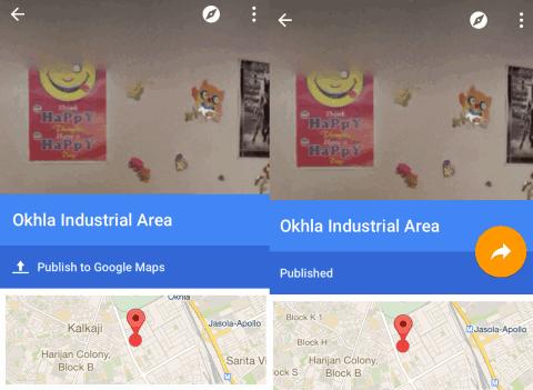 Publishing to Google Maps