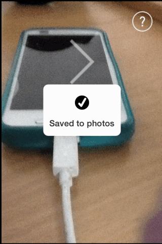 Saving Photo