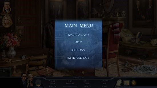 Special Enquiry Detail The Hand That Feeds game pause menu