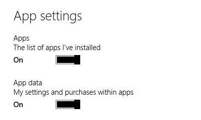 Sync Your Settings-App Settings