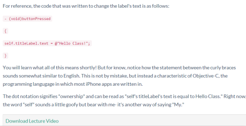 Text Based Description About Tutorial