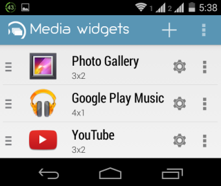 Widgets In A Group