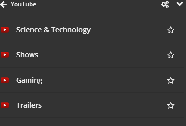 YouTube Video Categories
