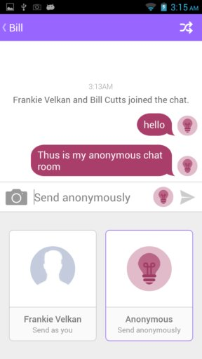 anonymous chat apps android 2
