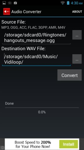audio converter apps android 2