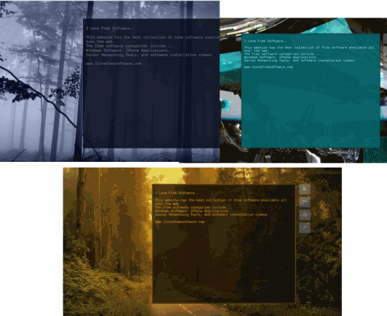 background themes