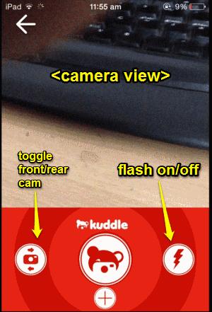 camera kuddle