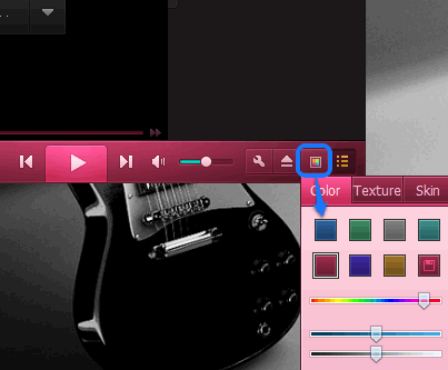 change interface color