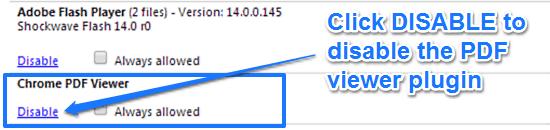 chrome pdf viewer plugin