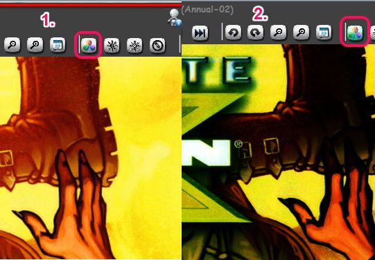color correction feature