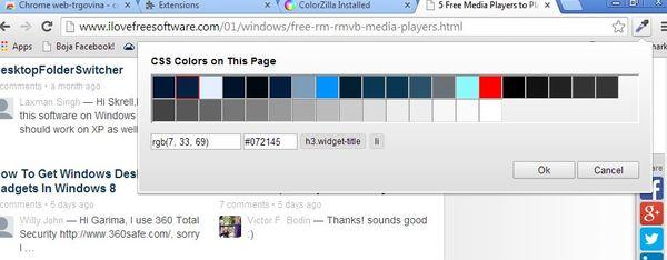 color palette extensions google chrome 2