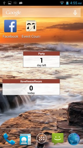 countdown apps android 4