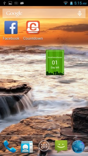 countdown apps android 5