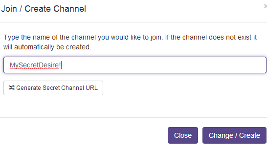 create your own channel
