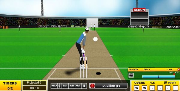 cricket game extensions chrome 2