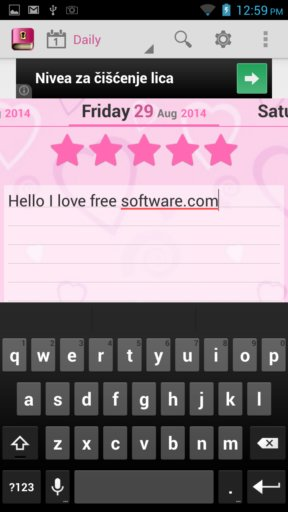 diary writing apps android 5